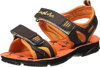 Liberty Boy's Darrell-1 Orange Sandals-9 Kids UK/India (27 EU) (2156027122)