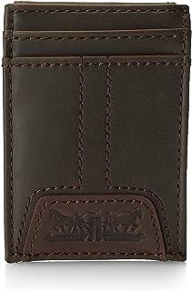 Levi's Men Front Pocket Wallet, Brown 31LV160016