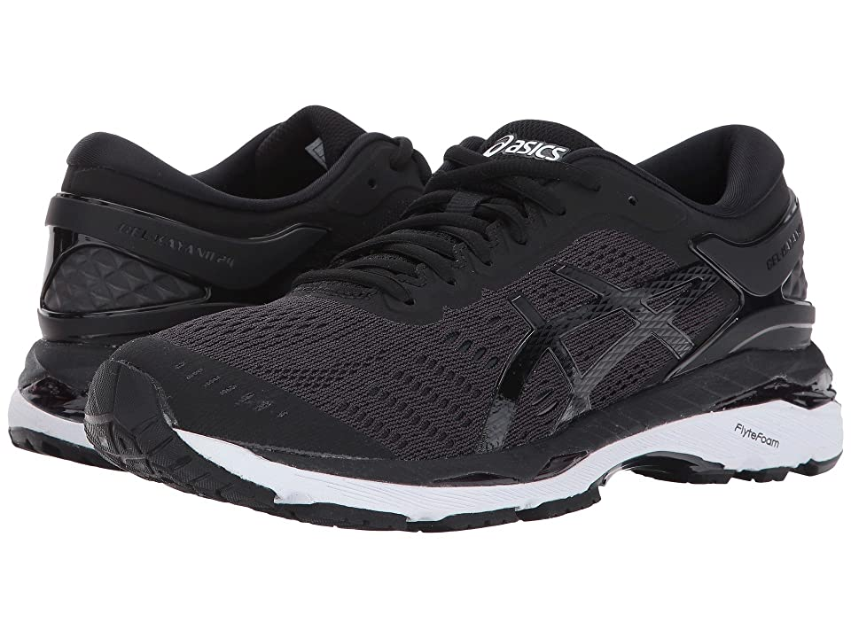 ASICS GEL-Kayano(r) 24 (Black/Phantom/White) Women