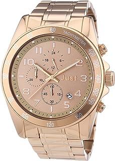 Just Watches 48-S1230-RGD - Orologio da polso unisex, acciaio inox