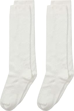 Pointelle Knee High 2-Pack (Toddler/Little Kid/Big Kid)