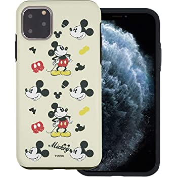 Amazon Com Iphone 11 Pro Case Heavy Drop Protection Cute Mickey Mouse Layered Hybrid Tpu Pc Bumper Cover For Iphone 11 Pro 5 8inch Vintage Mickey Mouse