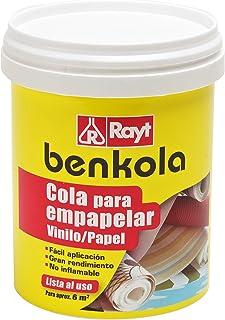 comprar comparacion Rayt 1760-09 Benkola Cola para empapelar. Lista al Uso Pintado o Vinilo con Dorso de Papel o Tejido, 1kg