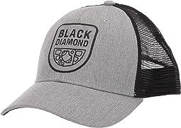 Heathered Aluminum/Black