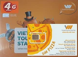 [Vietnamobile] ベトナム 4G 15日間 10GB データ通信SIMカード Plug to Go ピン付[並行輸入品]