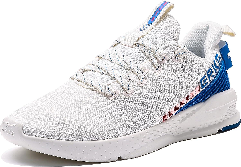ERKE Men's Walking 67% OFF of fixed price Shoes Tennis Tulsa Mall Athletic Runnin Cushioning