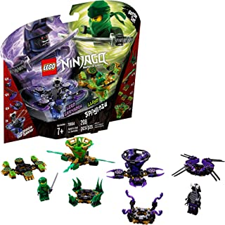 LEGO NINJAGO Spinjitzu Lloyd vs Garmadon 70664 Building Kit (208 Pieces)