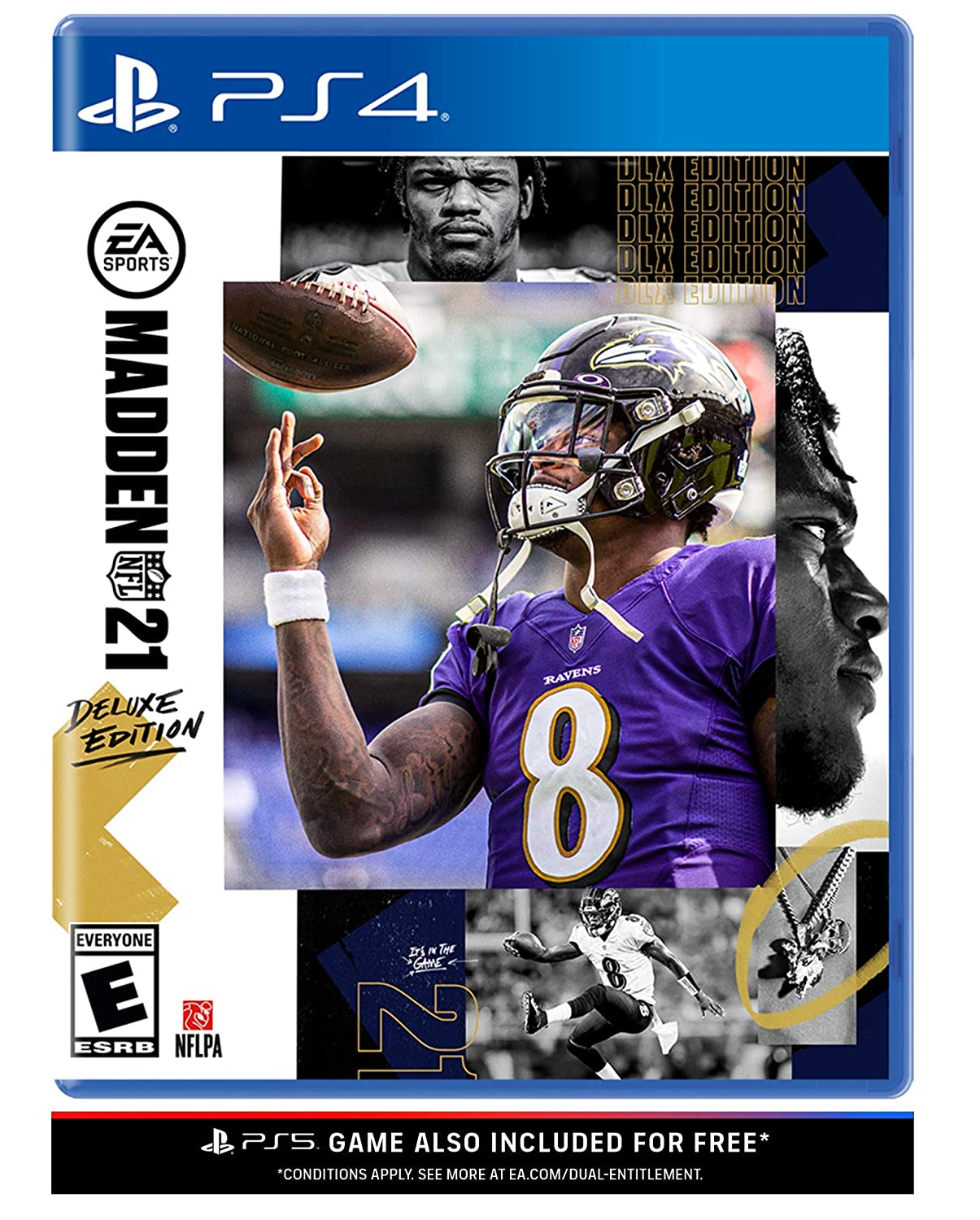 Madden Ranking TOP3 NFL 21 Deluxe Edition Very popular! PlayStation 4 -