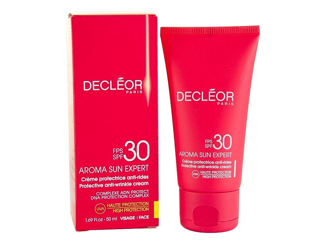 ライン報復唇デクレオール(DECLEOR) プロテクティブ サンクリーム 50g(日焼け止めクリーム)SPF30