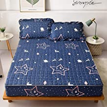 Bed linen mattress quilted bed sheet mattress protection cover Single piece Simmons bedspread cover 100% polyester bedding...