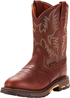 Best men's pull on work boots Reviews