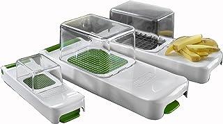 Alligator3080 Family Râpe à Fruits, légumes et oignons, 4ustensiles de Cuisine pour Couper Rapidement et proprement