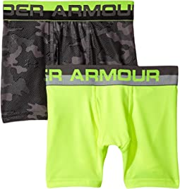 2-Pack UA Camo Boxer Brief (Big Kids)