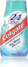 Colgate 2 in 1 Toothpaste & Mouthwash, Icy Blast Whitening, Liquid Gel, 3 pack 4.6 OZ Each
