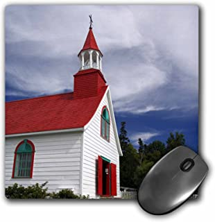 Quebec, Petite Chapelle, Wooden church -CN10 CMI0415 - Mouse Pad, 8 by 8 inches (mp_71094_1)