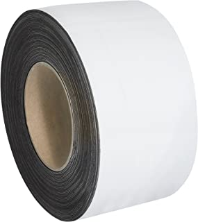 """Warehouse Labels, Magnetic Rolls, 3"""" x 100', White, 1/Case"""