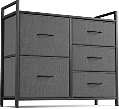 Cubiker Dresser Storage Organizer, 5 Drawer Dresser Tower Unit for Bedroom Hallway Entryway Closets, Small Dresser Clothes...
