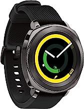Samsung Gear Sport Smartwatch, Black (SM-R600NZKAXAR) (Renewed)