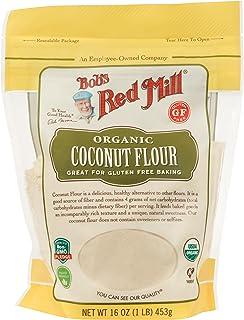 Bob's Red Mill, Organic Gluten Free Coconut Flour, 16 Ounce