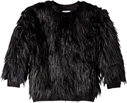 Faux Fur Sweatshirt (Little Kids/Big Kids)