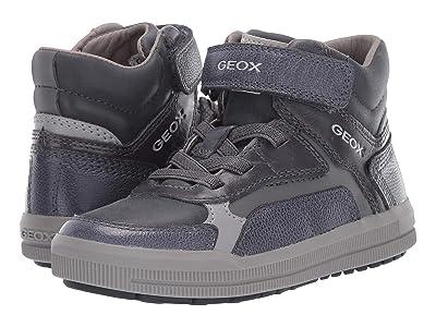 Geox Kids Jr Arzach 15 (Little Kid) (Navy/Grey) Boys Shoes