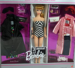 35th Anniversary Giftset 1959 Barbie Doll, Fashions and Pack