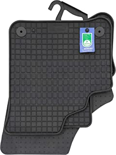 PETEX 62511 Rubber Mats Suitable for e-Up from 09/2019 Black Set of 4