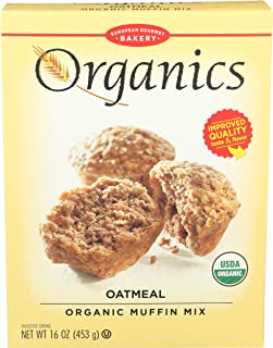European Gourmet Bakery Organic Muffin Mix Oatmeal - 16 oz