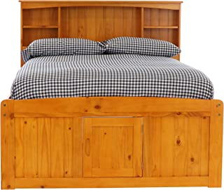 full captain bed with drawers