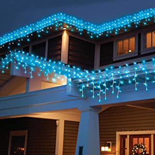 Holiday Time 300-Count High Density Blue Icicle Lights