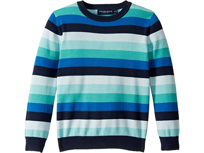 Toddler//Little Kids//Big Kids Toobydoo Boys Striped Sweater