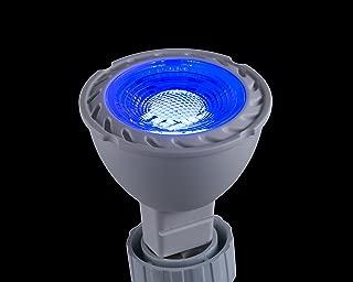 CBConcept UL-Listed MR16 GU5.3 LED Bulbs, 2-Pack, 5 Watt, Dimmable 500 Lumen, Blue, 36°Beam Angle, 12V, 50W Halogen Equivalent, Recessed/Landscape LED Lighting | Designed in San Francisco