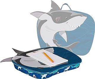 LapGear Lap Pets Lap Desk for Kids - Shark - Fits Up to 15.6 Inch Laptops - Style No. 46753