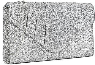 cheap silver clutch handbags
