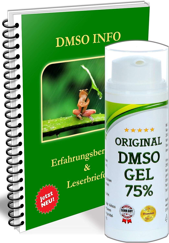 Leivys DMSO GEL ungüento dosis alta + PDF libro de experiencias Efecto Aplicación Dosis 50ml