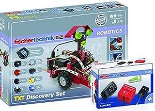 Fischertechnik 530857 - Paket TXT Discovery und Accu Set [並行輸入品]