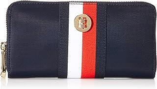 Tommy Hilfiger Damen Geldbörse Portemonnaies Poppy L Zip Blau