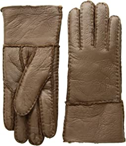 91eb5e65ee9 Ugg deerskin leather shearling cuff glove + FREE SHIPPING | Zappos.com