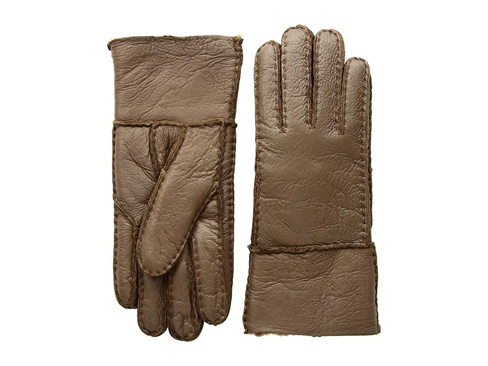 Tundra Boots Sheepskin Gloves (Brown) Extreme Cold Weather Gloves