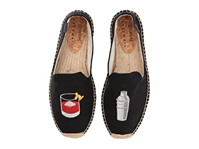 Soludos Negroni Shaker Smoking Slipper (Black) Men
