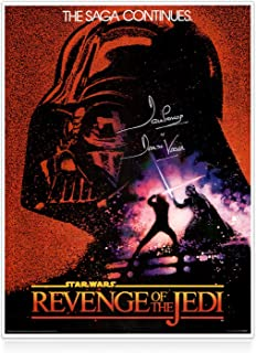 darth vader signed poster