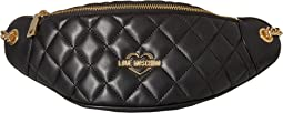LOVE Moschino - Super Quilted Fanny Pack