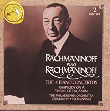 Best rachmaninoff plays rachmaninoff the 4 piano concertos Reviews