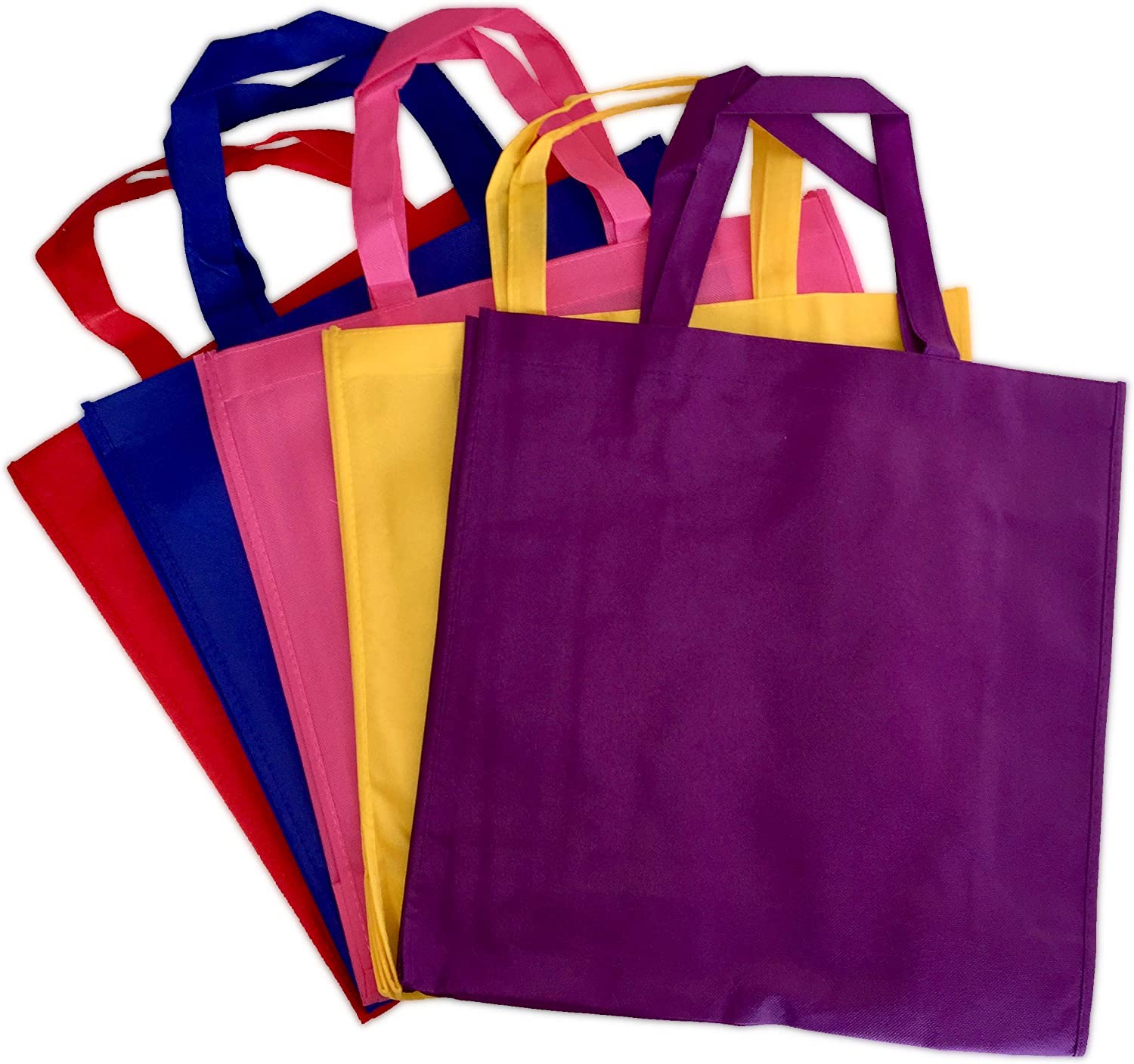 Variety 5 Pack Promo 5 ☆ popular Tote store Bags Totes Travel and Grocery Reusable