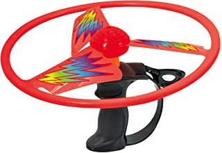 Discovery Toys Sky Spin Flying Aerial Disc Launcher   2 Large Wings Kid-Powered Learning   STEM Toy Early Childhood Development 6 Years and Up