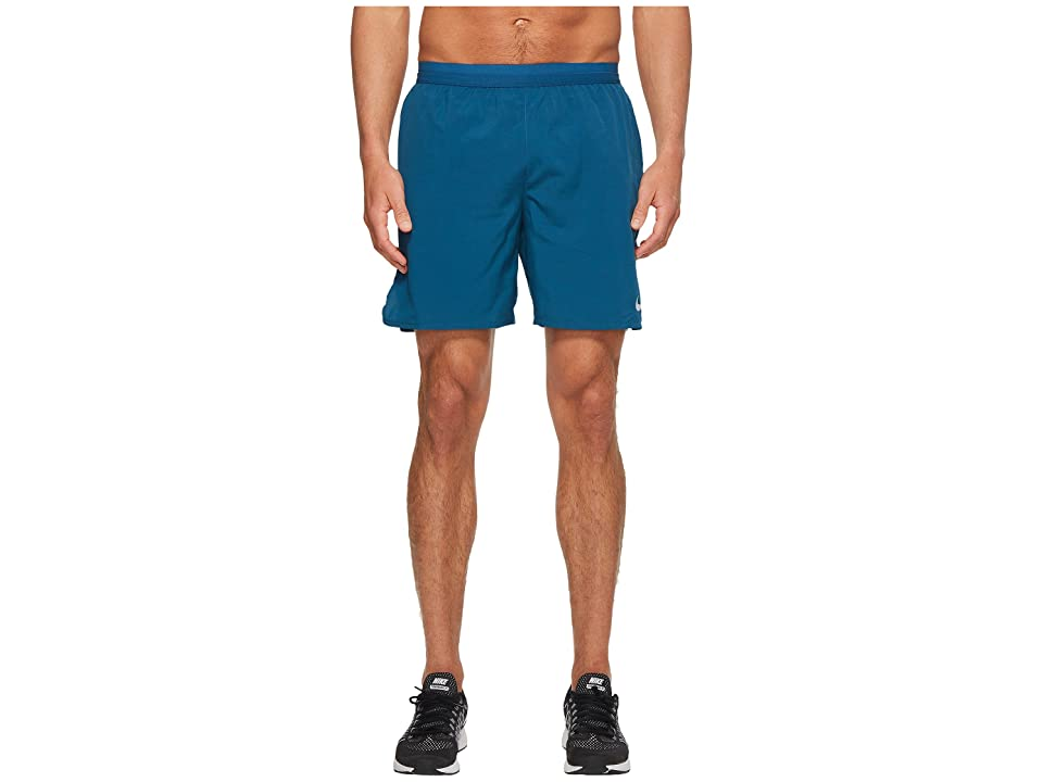 Nike Flex Distance 7 Lined Running Short (Blue Force/Light Blue Fury) Men