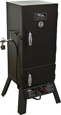 """Masterbuilt 20051311 GS30D 2-Door Propane Smoker, 30"""" (Old Version), Black"""