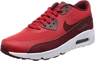 wholesale dealer 350b5 1ea5e NIKE Men s Air Max 90 Ultra 2.0 Essential University Red Team Red White  Running