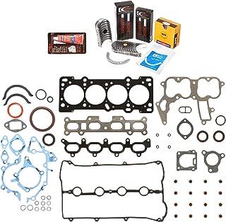 Evergreen Engine Rering Kit FSBRR6022022 Fits 91-98 Mazda Ford Kia 1.8 DOHC BP Full Gasket Set, 0.50mm / 0.020
