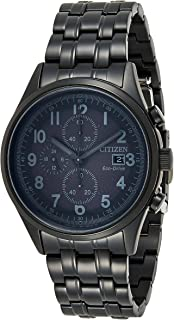 Citizen Chandler Black Dial Stainless Steel Men`s Watch CA0625-55E